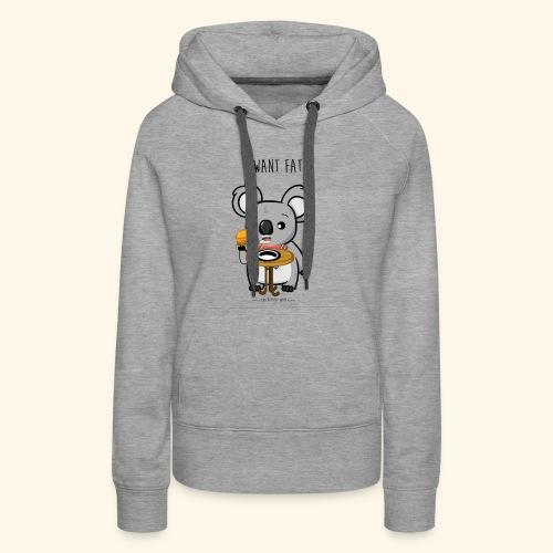 i want fate - Sweat-shirt à capuche Premium pour femmes