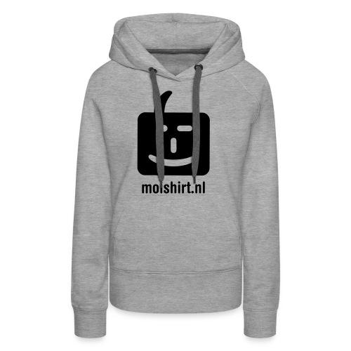 moi shirt back - Vrouwen Premium hoodie