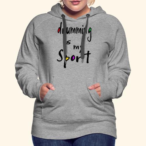 drumming - Frauen Premium Hoodie