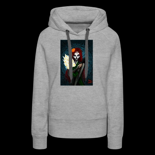 Death and lillies - Women's Premium Hoodie