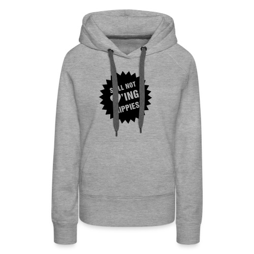 Still not ♥'ing Hippies S - Frauen Premium Hoodie