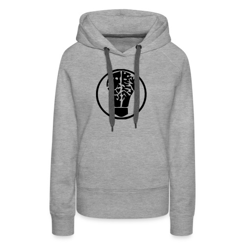 birneorgalogominischwarz - Frauen Premium Hoodie