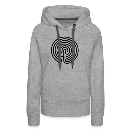 Labyrinth Men - Sweat-shirt à capuche Premium pour femmes