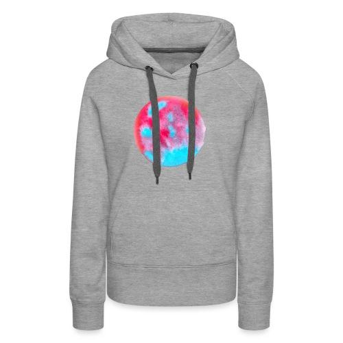 Kunstvolles kreisförmiges Design - Frauen Premium Hoodie