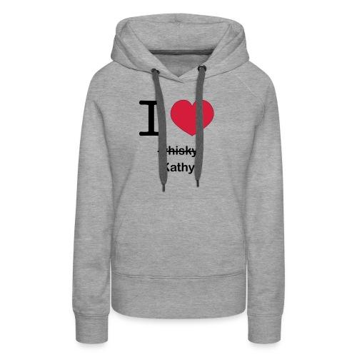 ilovekathy - Vrouwen Premium hoodie
