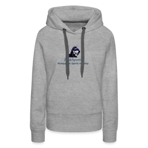 Zik&Sports - Sweat-shirt à capuche Premium pour femmes