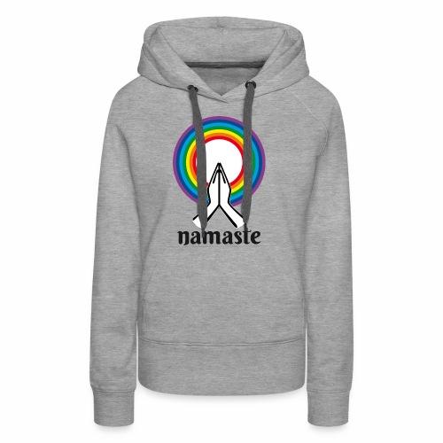Namaste - Sweat-shirt à capuche Premium pour femmes