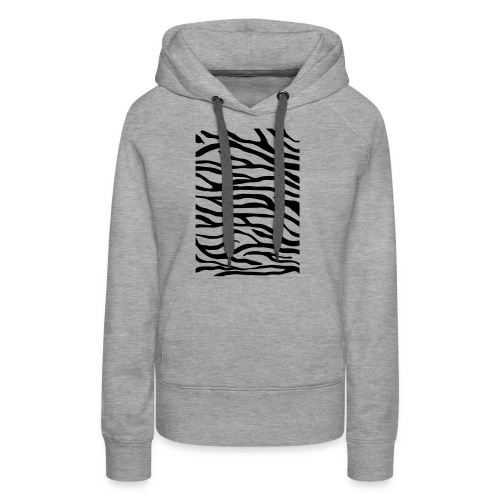 zebra v6 - Vrouwen Premium hoodie