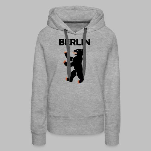 BERLIN - Berliner Bär (Vektor) - Frauen Premium Hoodie