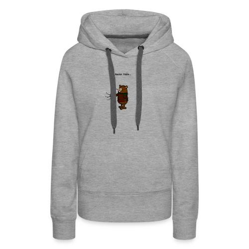 Hamster Freddie - Vrouwen Premium hoodie