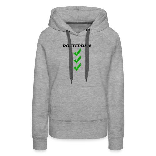 ROTTERDAM VINK png - Vrouwen Premium hoodie