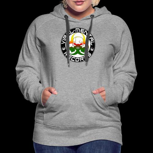 Viral Mental Records Logo - Women's Premium Hoodie