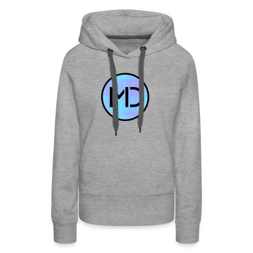 MD Blue Fibre Trans - Women's Premium Hoodie