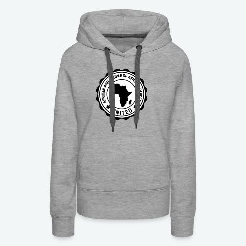united africa 001 - Sweat-shirt à capuche Premium pour femmes