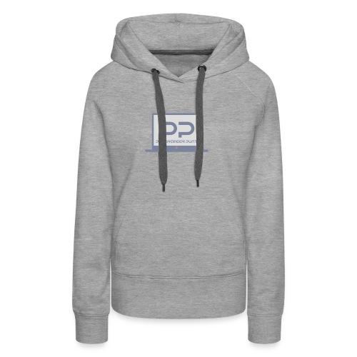 muismat met logo - Vrouwen Premium hoodie