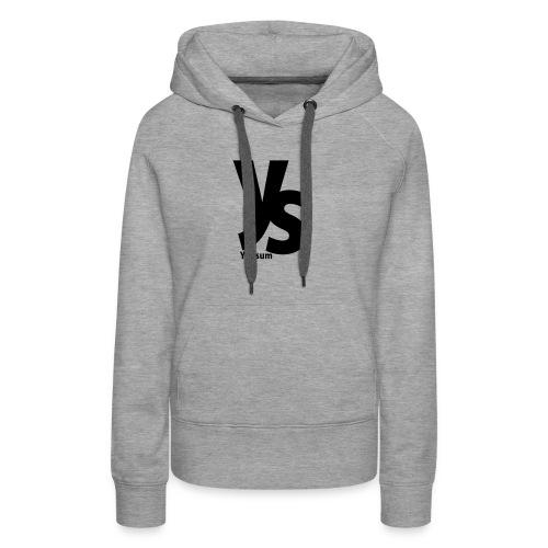 Yousum shirt - Vrouwen Premium hoodie