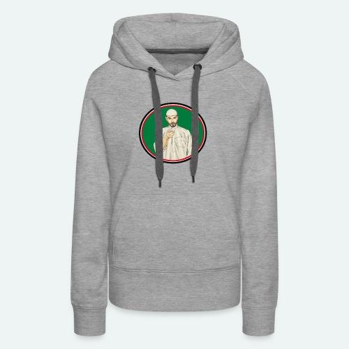 Logo BePalestine - Sweat-shirt à capuche Premium pour femmes