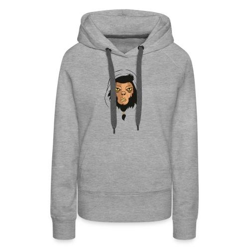 Punkey - Sweat-shirt à capuche Premium pour femmes
