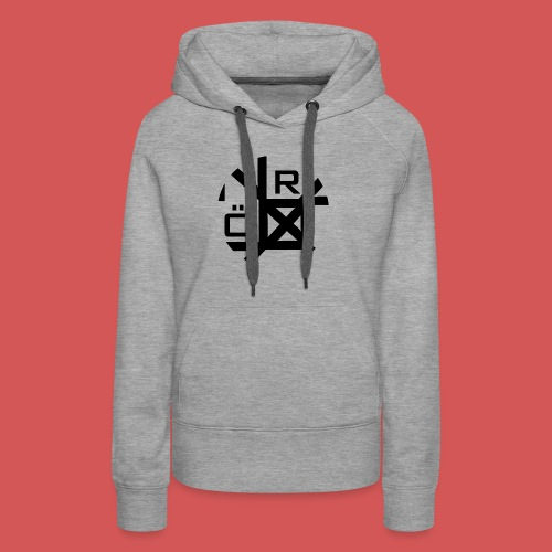 Nörthstat Group™ TecH | iCon - WHT.Knapsack - Women's Premium Hoodie