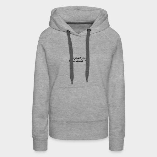 vendredi-VECT - Sweat-shirt à capuche Premium pour femmes
