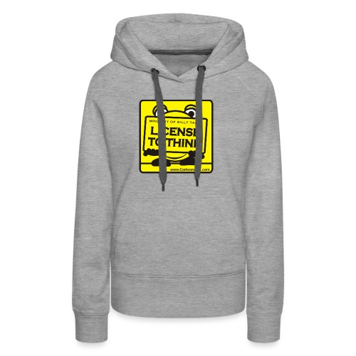 Licence to Think - Women's Premium Hoodie