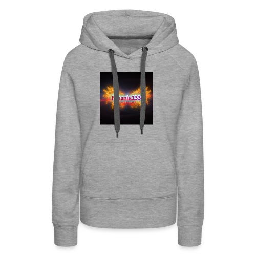 Flaming Pheonix YT - Women's Premium Hoodie