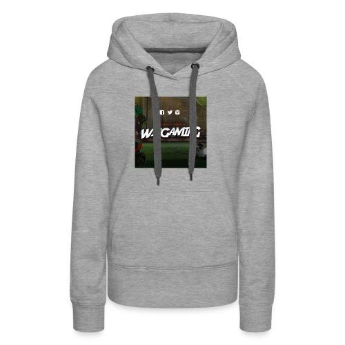 logoWizGaming jpg - Sweat-shirt à capuche Premium pour femmes
