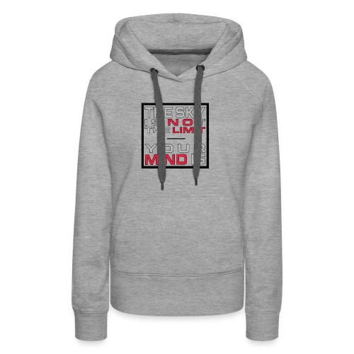 No Limit Mind - Frauen Premium Hoodie