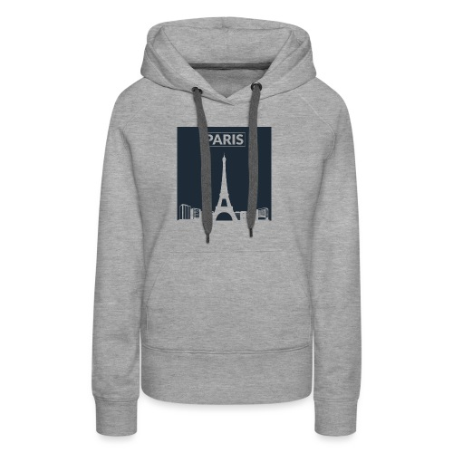 Paris - Collection 2015 - Sweat-shirt à capuche Premium pour femmes