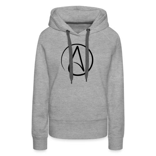 Atheist A - Frauen Premium Hoodie