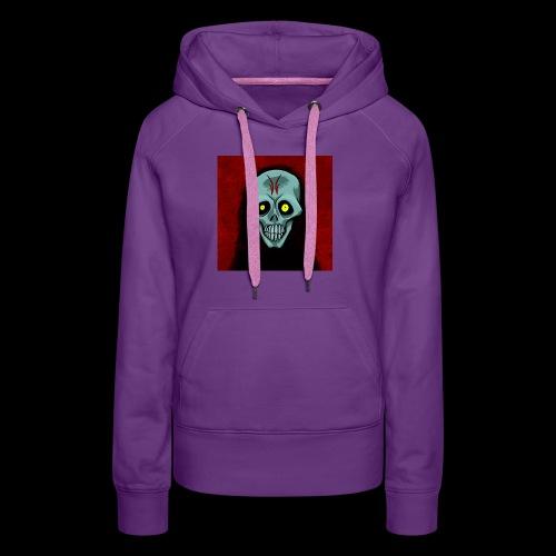 Ghost skull - Women's Premium Hoodie