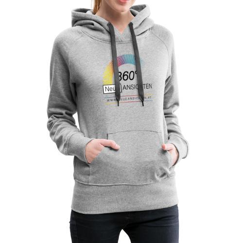 Logo NeueAnsichten - Frauen Premium Hoodie