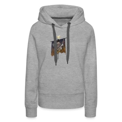 Flag Skull - Frauen Premium Hoodie