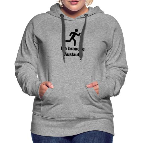 Jogging - Frauen Premium Hoodie