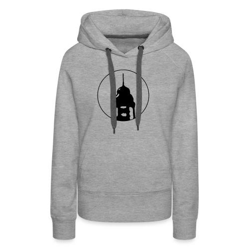 Neckarstadtblog Logo - Frauen Premium Hoodie