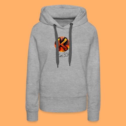 Kai_307 - Profilbild + Unterschrift Schwarz - Frauen Premium Hoodie