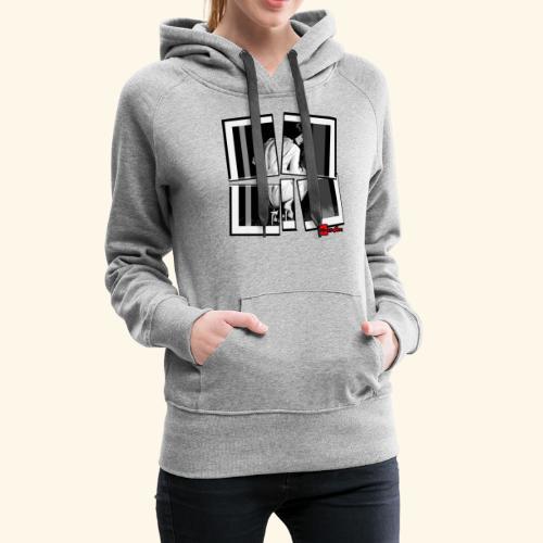 asia art 3 - Sweat-shirt à capuche Premium pour femmes
