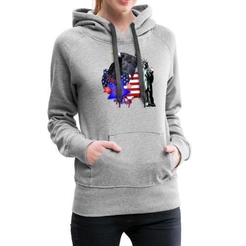Independence Day - Frauen Premium Hoodie