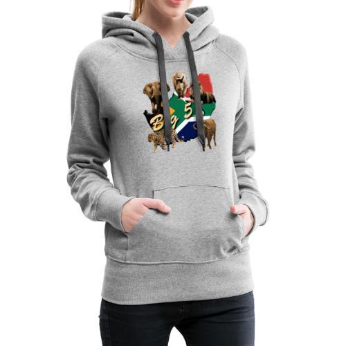 Big 5 - Südafrika Safari - Frauen Premium Hoodie