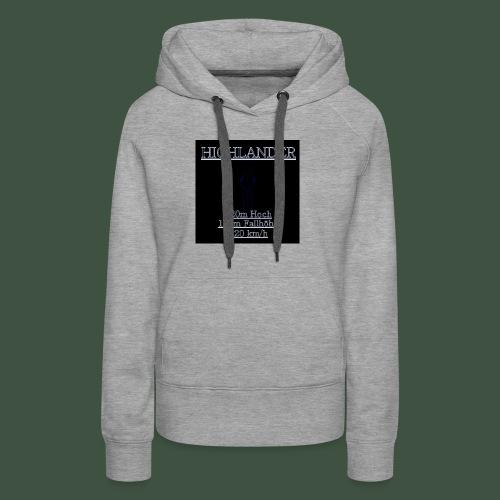 Highlander fashion - Frauen Premium Hoodie