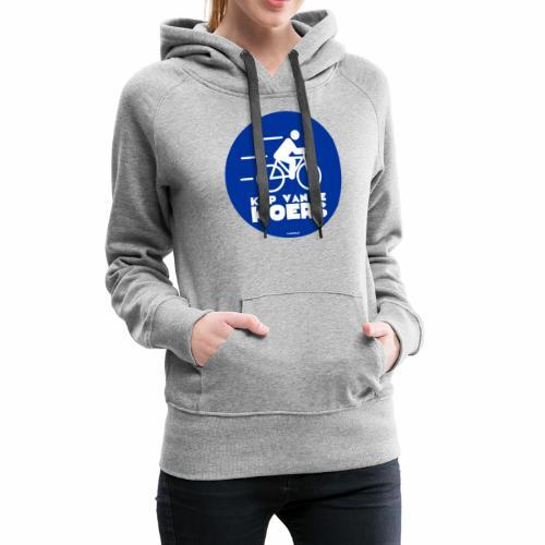 Kop van de koers - Vrouwen Premium hoodie