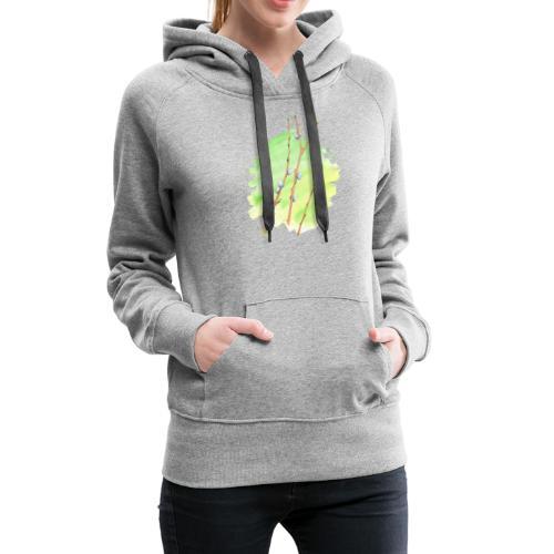 Weidenkätzchen - Frauen Premium Hoodie