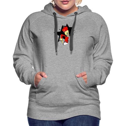 rap - Sweat-shirt à capuche Premium pour femmes