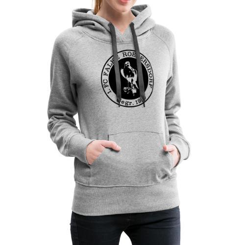 VORNE FCR LOGO RETRO - Frauen Premium Hoodie
