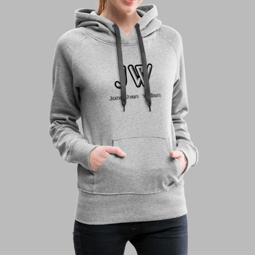 Jonathan William JW logo - Women's Premium Hoodie