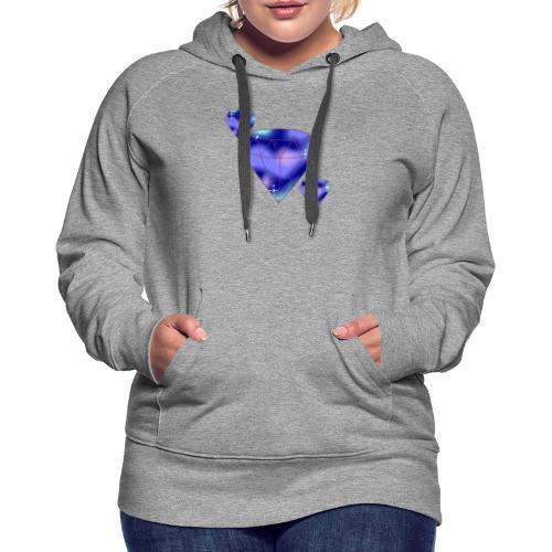 Diamonds - Dame Premium hættetrøje