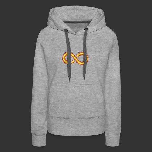 Infinity Snake - Sweat-shirt à capuche Premium pour femmes