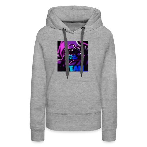 team knight aleen van voor - Vrouwen Premium hoodie