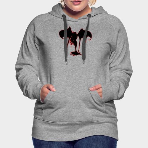 DEMONIA - Sudadera con capucha premium para mujer