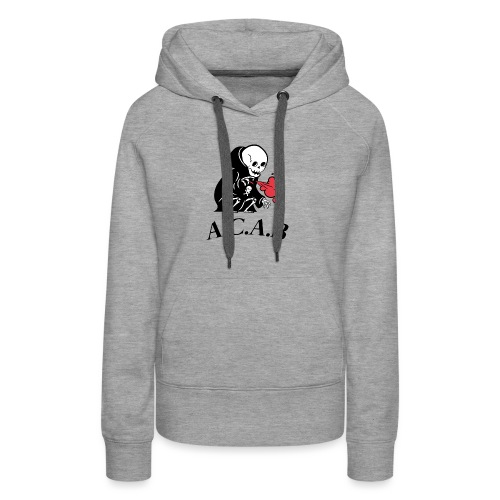 la mort - Sweat-shirt à capuche Premium pour femmes